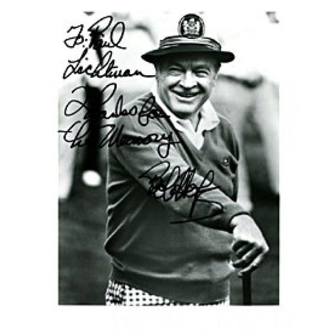 Bob Hope Autographed / Signed Black & White 8x10 Photo