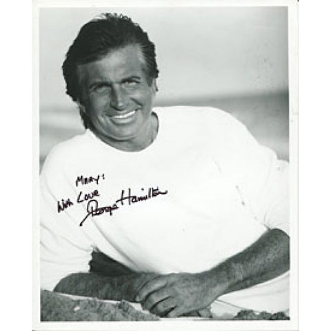 George Hamilton Autographed/Signed 8x10 Photo