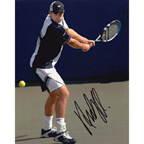 Andy Roddick Autographed Tennis 8x10 Photo