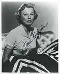 June Allyson Autographed/Signed 8x10 Photo