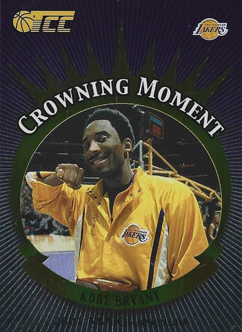 Kobe Bryant 2002 Crowning Moment Topps Card