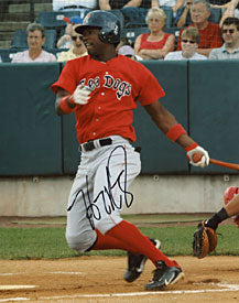 Hanley Ramirez Autographed / Signed Portland Sea Dogs Baseball 8x10 Photo (Rare)