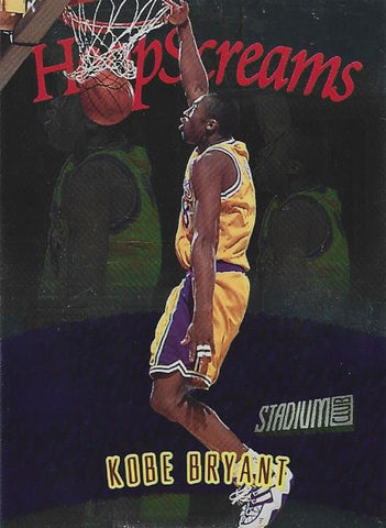 Kobe Bryant 1997 HoopScreams Topps Card