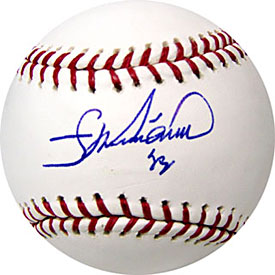 Francisco Liriano Autographed / Signed Baseball