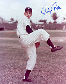 Johnny Podres Autographed / Signed Baseball 8x10 Photo