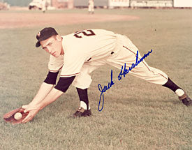 Jack Harshman Autographed / Signed Baseball 8x10 Photo