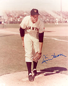 Jim Hearn Autographed / Signed Baseball 8x10 Photo