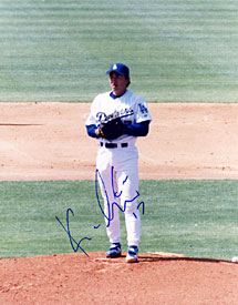 Kaz Ishii Autographed / Signed Baseball 8x10 Photo