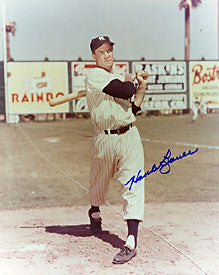 Hank Bauer Autographed / Signed 8x10 New York Yankees Photo