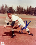 Johnny Podres Autographed 8x10 Baseball Photo - Brooklyn Dodgers