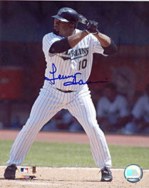 Lenny Harris Signed / Autographed 8x10 Photo