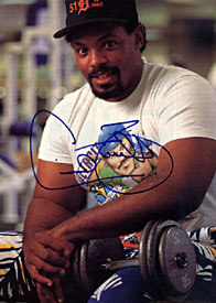 Cecil Fielder Autographed / Signed 8x10 Magazine Photo