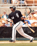 Dayan Viciedo Autographed / Signed After Hit 8x10 Photo