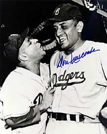 Don Newcombe Autographed / Signed 8x10 Black & White Photo