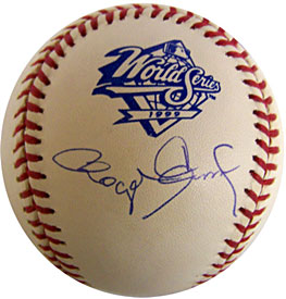 Roger Clemens Signed / Autographed 1999 World Series Baseball
