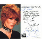 Jill St. John Autographed / Signed Black & White Celebrity 3x5 Postcard