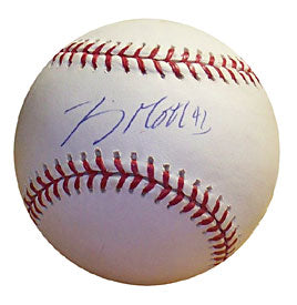 Jimmy Gobble Autographed / Signed Baseball (Steiner)