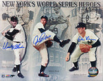 New York's World Series Heroes Autographed/Signed 8x10 Photo