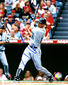 Travis Lee Autographed / Signed Hitting 8x10 Photo