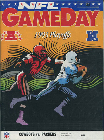 1993 Playoffs Game Day Program