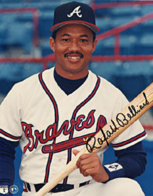 Rafael Belliard Autographed / Signed Atlanta Braves Baseball 8x10 Photo