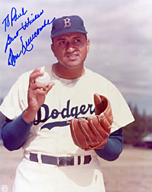 Don Newcombe Autographed / Signed Baseball 8x10 Photo