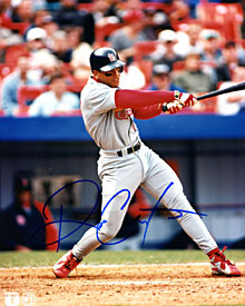 Royce Clayton Autographed / Signed Hitting 8x10 Photo
