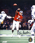 Gary Morton Autographed 8x10 Photo Denver Broncos