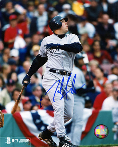 Nick Johnson Autographed / Signed New York Yankees 8x10 Photo