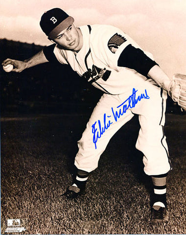 Eddie Mathews Autographed / Signed Boston Braves 8x10 Photo