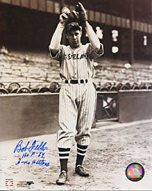 Bob Feller Autographed/Signed 8x10 Photo