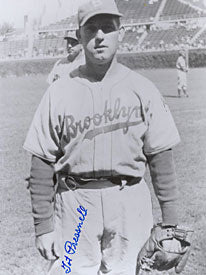 Tot Pressnell Autographed / Signed Brooklyn Dodgers 8x10 Photo