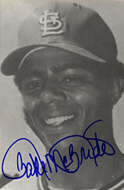 Bake McBride Autographed / Signed Post Card (Black & White)