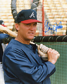 Graig Nettles Autographed / Signed Baseball 8x10 Photo