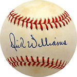 Dick Williams Autographed / Signed Baseball