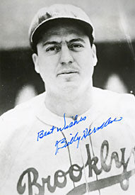 Billy Herman Autographed / Signed Baseball 8x10 Photo