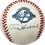 Tom Henrich Autographed / Signed New York Yankees 100th Anniversary Major League Baseball