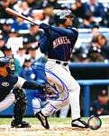 Shannon Stewart Autographed / Signed Hitting 8x10 Photo