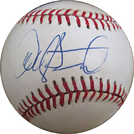 Dave Stewart Autographed / Signed Baseball