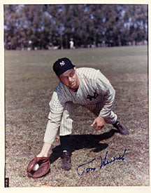 Tom Henrich Autographed / Signed 8x10 Photo - New York Yankees