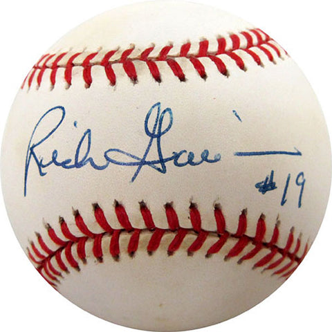 Rich Garcia Autographed / Signed Baseball