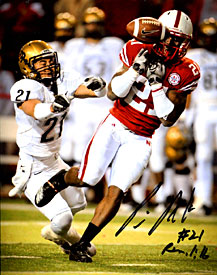 Prince Amukamara Autographed / Signed 8x10 Photo