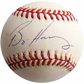 Bryan Harvey Autographed / Signed Baseball - Florida Marlins