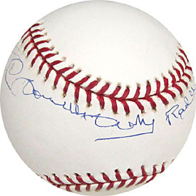 Ted Double Duty Radcliffe Autographed / Signed Baseball