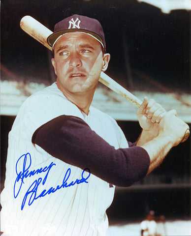 Johnny Blanchard Autographed / Signed New York Yankees 8x10 Photo