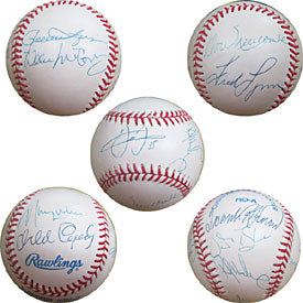 MVP Club Autographed/Signed Baseball- 10 signatures