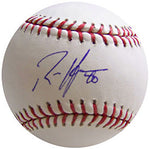Rich Harden Autographed Baseball