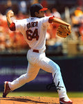 Jaimie Garcia Autographed / Signed Pitching 8x10 Photo