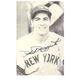 Phil Rizzuto Autographed / Signed 3x5 Photo