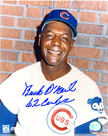 Buck O'Neil 62 Cubs Autographed / Signed 8x10 Photo